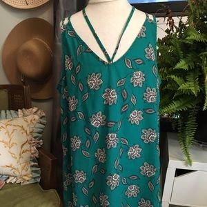 Emerald Paisley Camisole